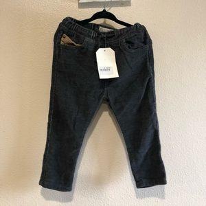 Zara baby corduroy pants NWT